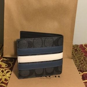 Coach Men's Wallet NWT